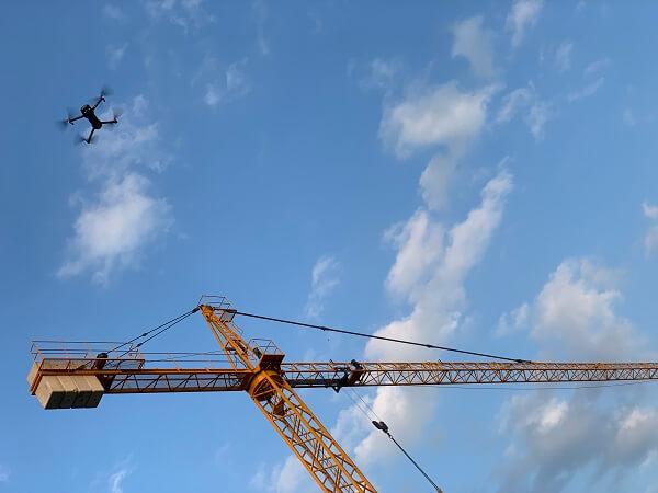 crane-drone